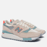 Женские кроссовки New Balance W998CHS Sea Salt/Storm Blue фото- 2