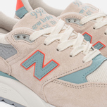 Женские кроссовки New Balance W998CHS Sea Salt/Storm Blue фото- 5