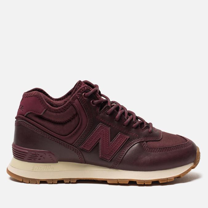 Женские кроссовки New Balance WH574BC Burgundy