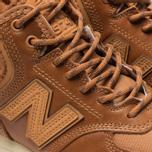 Женские кроссовки New Balance WH574BD Brown фото- 6