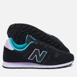 Женские кроссовки New Balance WL373GD Black фото- 2