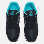 Женские кроссовки New Balance WL373GD Black фото- 4