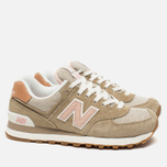 Женские кроссовки New Balance WL574BCA Beach Cruiser Pack Tumbleweed фото- 1
