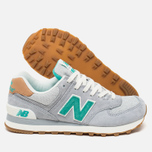 Женские кроссовки New Balance WL574BCB Beach Cruiser Pack Grey/Green фото- 2