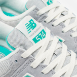 Женские кроссовки New Balance WL574BCB Beach Cruiser Pack Grey/Green фото- 5