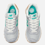 Женские кроссовки New Balance WL574BCB Beach Cruiser Pack Grey/Green фото- 4