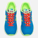Женские кроссовки New Balance WL574BP Pop Safari Blue/Orange/Red фото- 4