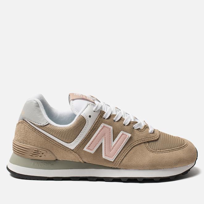 Женские кроссовки New Balance WL574BTB Brown/Rose