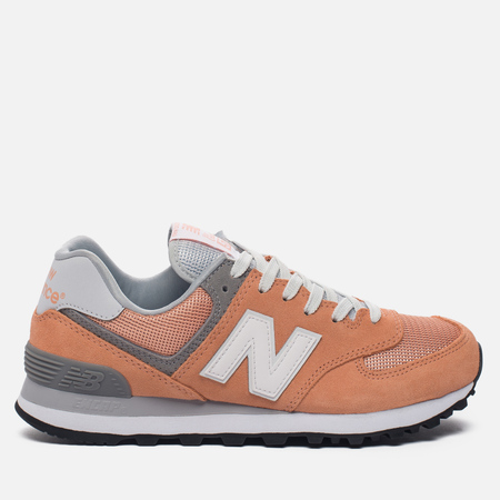 Женские кроссовки New Balance WL574CB Core Plus Pack Sahara Sunset/Grey