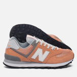 Женские кроссовки New Balance WL574CB Core Plus Pack Sahara Sunset/Grey фото- 2