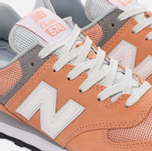 Женские кроссовки New Balance WL574CB Core Plus Pack Sahara Sunset/Grey фото- 3