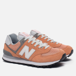 Женские кроссовки New Balance WL574CB Core Plus Pack Sahara Sunset/Grey фото- 1