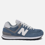 Женские кроссовки New Balance WL574CC Core Plus Pack Deep Porcelain Blue/Grey фото- 0