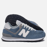 Женские кроссовки New Balance WL574CC Core Plus Pack Deep Porcelain Blue/Grey фото- 2