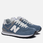 Женские кроссовки New Balance WL574CC Core Plus Pack Deep Porcelain Blue/Grey фото- 1