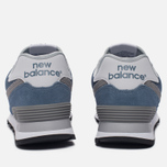 Женские кроссовки New Balance WL574CC Core Plus Pack Deep Porcelain Blue/Grey фото- 3