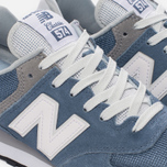 Женские кроссовки New Balance WL574CC Core Plus Pack Deep Porcelain Blue/Grey фото- 5
