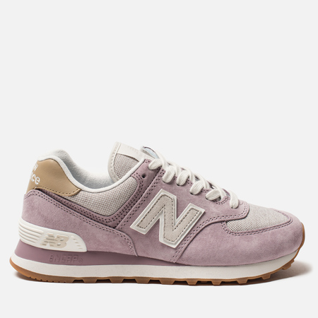 Женские кроссовки New Balance WL574CLC Cashmere/Light Grey