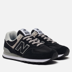 Женские кроссовки New Balance WL574EB Core Plus Black/White