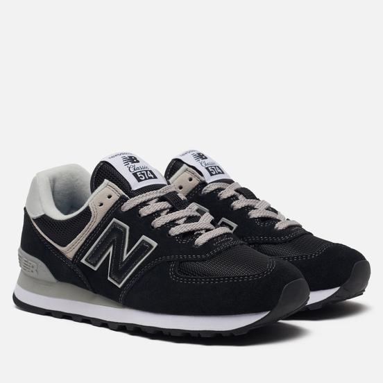 Женские кроссовки New Balance WL574EB Core Plus Black/White