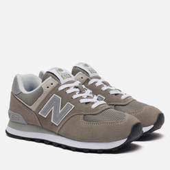 Женские кроссовки New Balance WL574EG Grey Day Pack Grey
