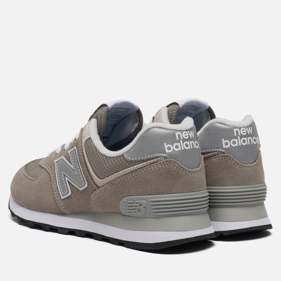 Женские кроссовки New Balance WL574EG Grey Day Pack Grey