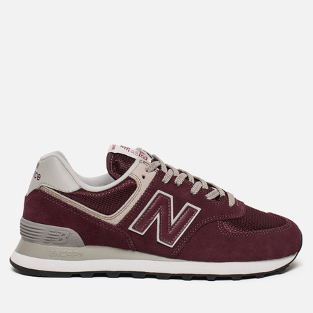 Женские кроссовки New Balance WL574ER Core Plus Burgundy/White