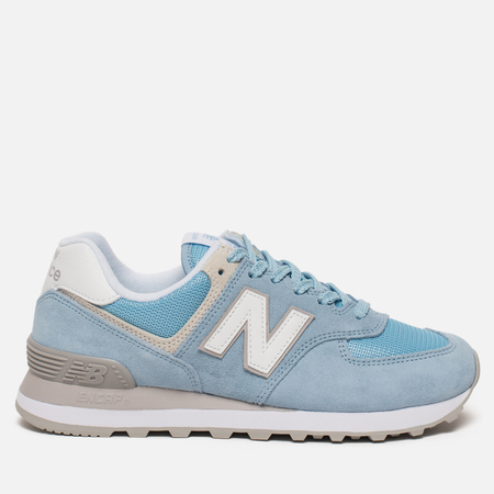 Женские кроссовки New Balance WL574ESB Core Plus Pastel Blue/White