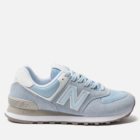 Женские кроссовки New Balance WL574ESC Blue/Grey