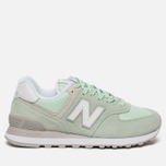 Женские кроссовки New Balance WL574ESM Core Plus Pastel Green/White фото- 0