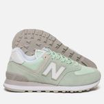 Женские кроссовки New Balance WL574ESM Core Plus Pastel Green/White фото- 1