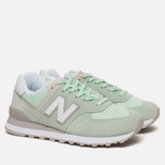 Женские кроссовки New Balance WL574ESM Core Plus Pastel Green/White фото- 2