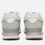 Женские кроссовки New Balance WL574ESM Core Plus Pastel Green/White фото- 3