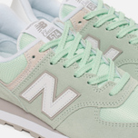 Женские кроссовки New Balance WL574ESM Core Plus Pastel Green/White фото- 5
