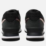 Женские кроссовки New Balance WL574NBK Black/Bronze фото- 3