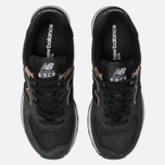 Женские кроссовки New Balance WL574NBK Black/Bronze фото- 5
