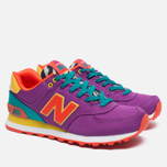 Женские кроссовки New Balance WL574PY Pop Safari Purple/Teal/Orange фото- 1