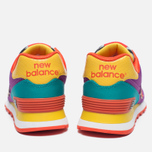 Женские кроссовки New Balance WL574PY Pop Safari Purple/Teal/Orange фото- 3