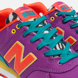 Женские кроссовки New Balance WL574PY Pop Safari Purple/Teal/Orange фото- 5