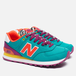 Женские кроссовки New Balance WL574RP Pop Safari Teal/Red/Yellow фото- 1