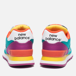 Женские кроссовки New Balance WL574RP Pop Safari Teal/Red/Yellow фото- 3