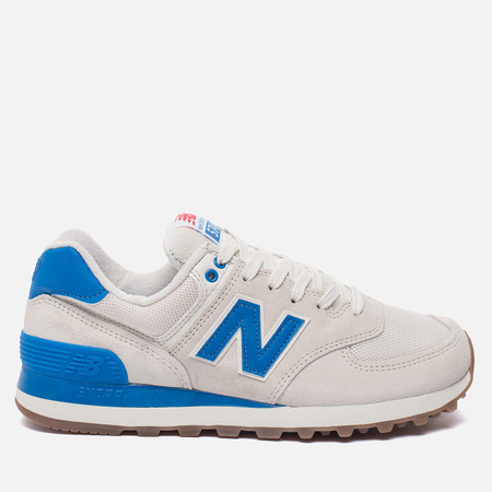 Женские кроссовки New Balance WL574RSB Sea Salt/Electric Blue