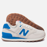 Женские кроссовки New Balance WL574RSB Sea Salt/Electric Blue фото- 1