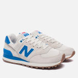 Женские кроссовки New Balance WL574RSB Sea Salt/Electric Blue фото- 2