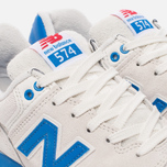 Женские кроссовки New Balance WL574RSB Sea Salt/Electric Blue фото- 5