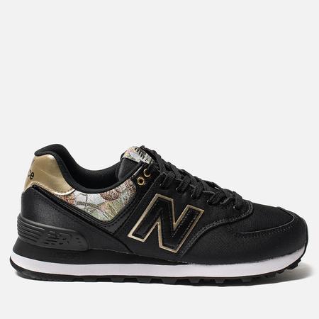 Женские кроссовки New Balance WL574SNC Black/Multicolor