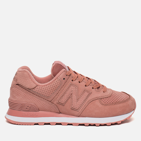 Женские кроссовки New Balance WL574URT Serpent Luxe Dusted Peach