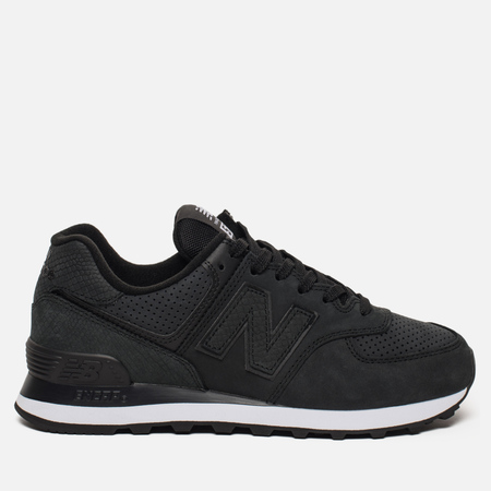 Женские кроссовки New Balance WL574URU Serpent Luxe Black