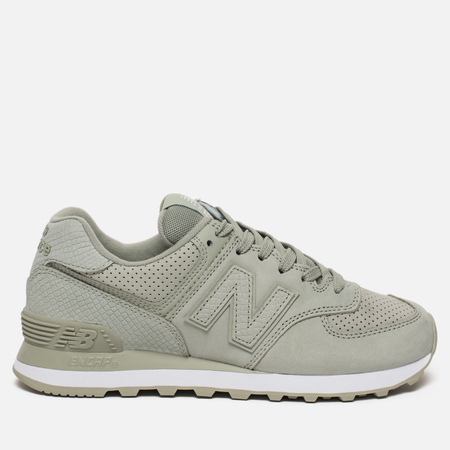 Женские кроссовки New Balance WL574URV Serpent Luxe Silver Mint