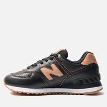 Женские кроссовки New Balance WL574WNH Black/Brown фото- 1